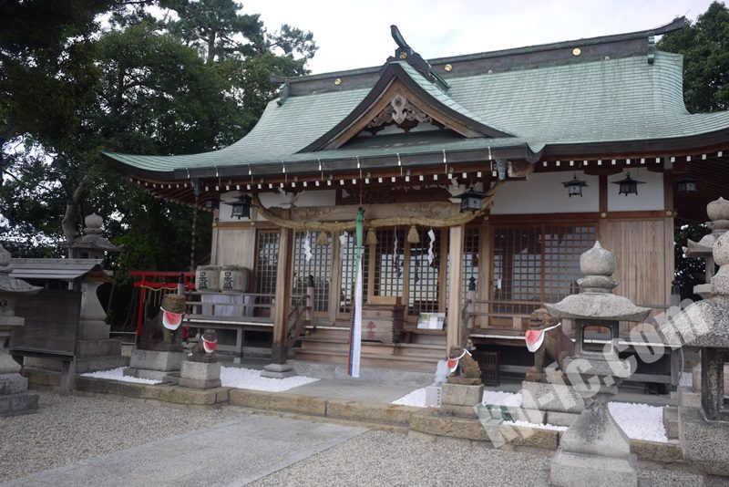 若宮住吉神社の社殿