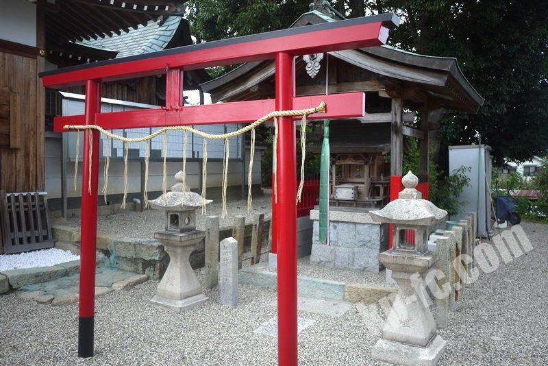 若宮住吉神社の境内社「稲荷神社」