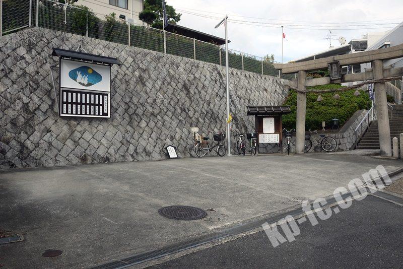 若宮住吉神社の駐車場