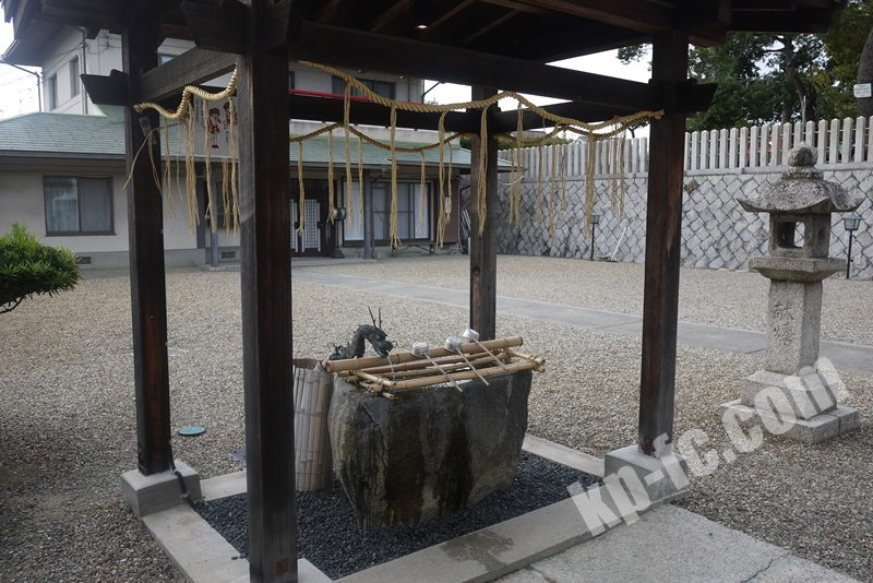 若宮住吉神社の手水舎