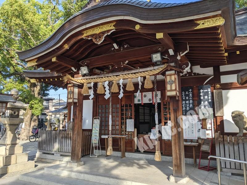 庄内神社の社殿
