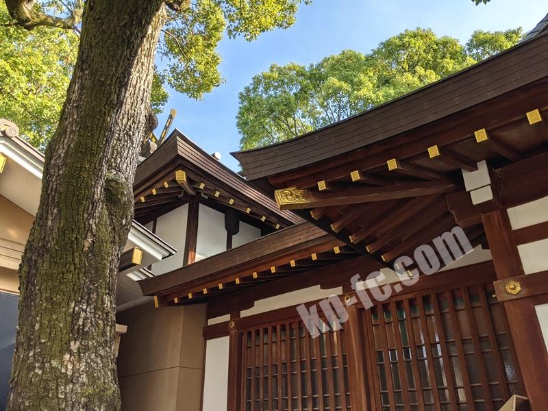 庄内神社の本殿
